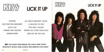 Kiss Lick It Up (1983) 1986